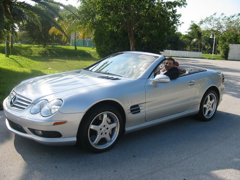 Pristine mercedes benz sl55 amg roadster convertible for Mercedes benz sl55